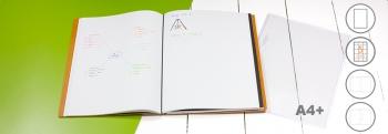 A4+ Projektmappe / Außendienstmappe / Konferenzmappe