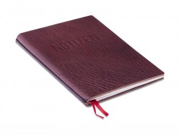 A6 1er Notizbuch mit Prägung