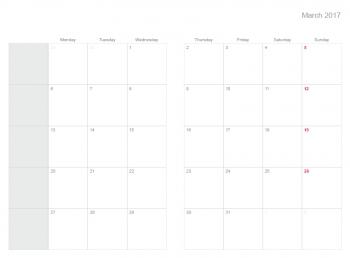 A5 Wochenkalender Plannerisms 2020