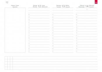 A5+ Quer Wochenkalender CLASSIC 2020