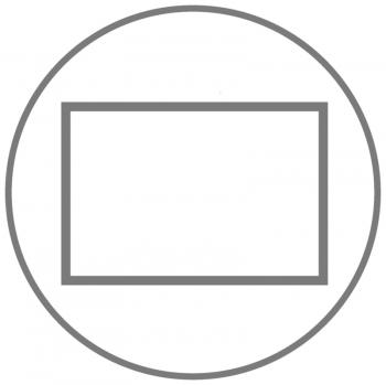 A5+ Quer 2er Lefa weiß in der BOX