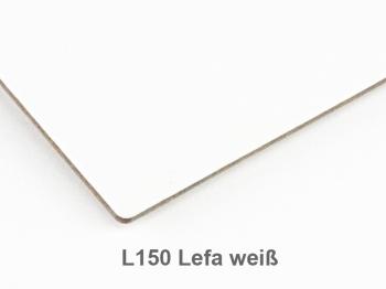 A6 Hülle 1er Lefa weiß inkl. ElastiXs