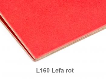 A6 Hülle 1er Lefa rot inkl. ElastiXs