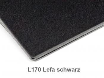 A6 Hülle 1er Lefa schwarz inkl. ElastiXs