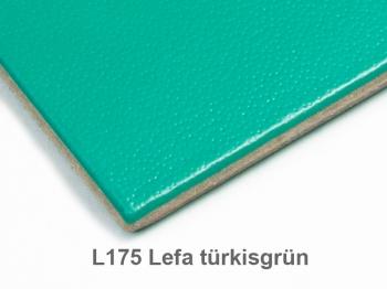 A6 Hülle 3er Lefa türkisgrün inkl. ElastiXs
