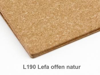 A6 1er Lefa offen natur mit 1 x Adressheft