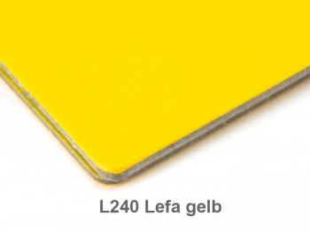 A6 Hülle 1er Lefa gelb inkl. ElastiXs