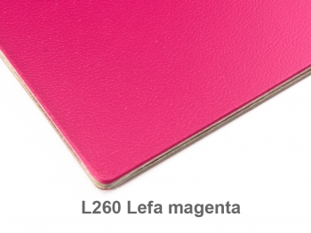 A6 Hülle 1er Lefa magenta inkl. ElastiXs