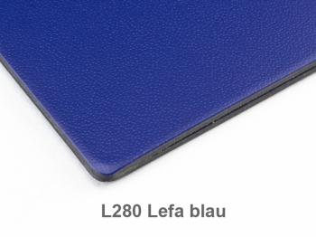 A6 Hülle 1er Lefa blau inkl. ElastiXs
