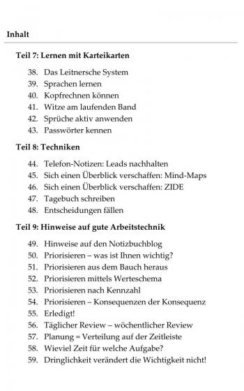 """Management by Karteikarte - Die """"Neue Zettelwirtschaft"""", E-Book"""