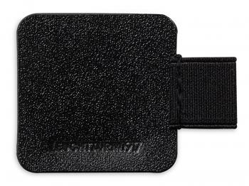 A6 2er Notizbuch Leder glatt schwarz in der BOX