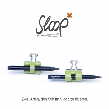 Sloop 25 mm Leder natur marone
