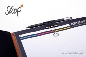 Sloop 25mm Leder Natur (vegetabil gegerbt)