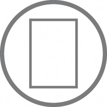 A4+ 2er Projektmappe Lefa beschichtet weiß mit 2 x Notizen, Doppeltasche und Schnellhefter