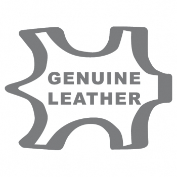 A4+ 1er Leder natur schwarz mit 1 x Notizen und Doppeltasche