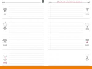 A7 Wochenkalender 2020 Quer, inkl. Leporello/Faltplaner