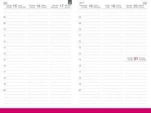 A5 Wochenkalender Plus 2020