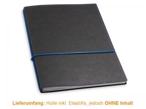 A4+ Hülle 2er Texon schwarz/blau inkl. ElastiXs