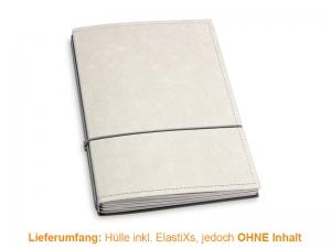 A5 Hülle 3er Texon stone/grau inkl. ElastiXs