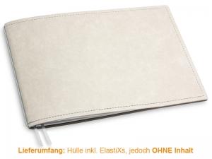 A5+ Quer Hülle 1er Texon stone/grau inkl. ElastiX