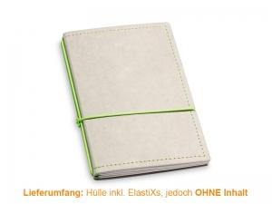 A6 Hülle 2er Texon stone/grün inkl. ElastiXs