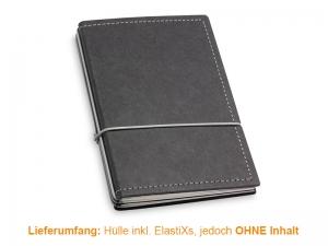 A6 Hülle 3er Texon schwarz/grau inkl. ElastiXs