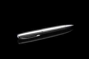 Stift N°1: Kugelschreiber chrom