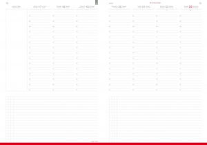 A4+ Wochenkalender CLASSIC 2021 inkl. Leporello