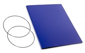 A4+ Hülle 1er Lefa blau inkl. ElastiXs