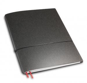 A4+ 1er Lefa unbeschichtet graphit mit 1 x Notizen und Doppeltasche
