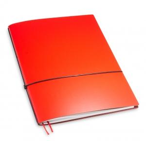 A4+ 1er Lefa beschichtet rot mit 1 x Notizen und Doppeltasche