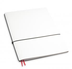 A4+ 1er Lefa beschichtet weiß mit 1 x Notizen und Doppeltasche