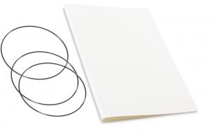 A4+ Hülle 2er HardSkin weiß inkl. ElastiXs