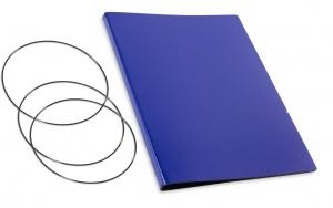 A4+ Hülle 2er Lefa blau inkl. ElastiXs