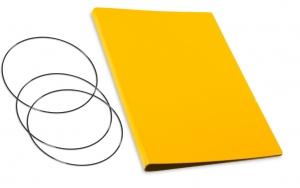 A4+ Hülle 2er Lefa gelb inkl. ElastiXs