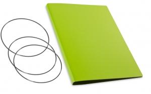 A4+ Hülle 2er Lefa grün inkl. ElastiXs