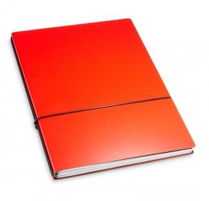A4+ 2er Lefa beschichtet rot mit 2 x Notizen und Doppeltasche