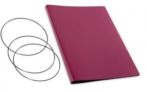 A4+ Hülle 2er Lefa violett inkl. ElastiXs