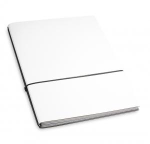 A4+ 2er Lefa beschichtet weiß mit 2 x Notizen und Doppeltasche
