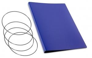 A4+ Hülle 3er Lefa blau inkl. ElastiXs