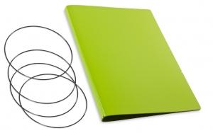 A4+ Hülle 3er Lefa grün inkl. ElastiXs