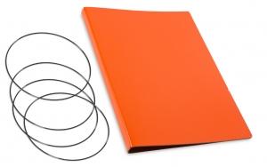 A4+ Hülle 3er Lefa orange inkl. ElastiXs