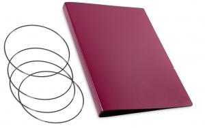 A4+ Hülle 3er Lefa violett inkl. ElastiXs