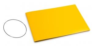 A5+ Quer Hülle 1er Lefa gelb inkl. ElastiX