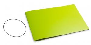 A5+ Quer Hülle 1er Lefa grün inkl. ElastiX