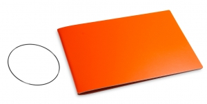 A5+ Quer Hülle 1er Lefa orange inkl. ElastiX
