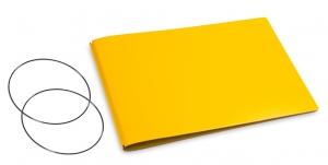 A5+ Quer Hülle 2er Lefa gelb inkl. ElastiXs