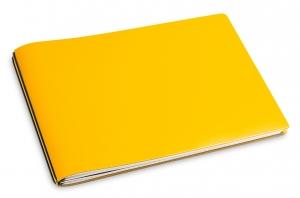 A5+ Quer 2er Lefa gelb mit Notizenmix