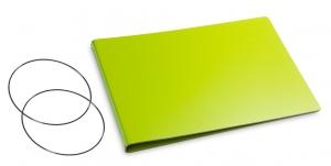 A5+ Quer Hülle 2er Lefa grün inkl. ElastiXs