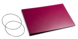 A5+ Quer Hülle 2er Lefa violett inkl. ElastiXs